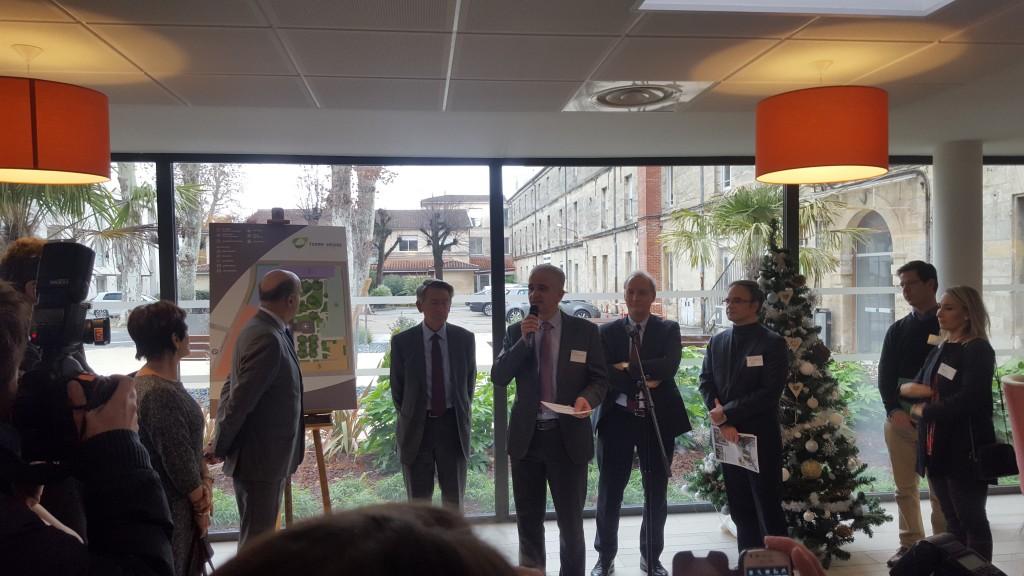 Acoba Assistance maîtrise d'ouvrage : Inauguration de l'EHPAD Terre-Nègre à Bordeaux 9