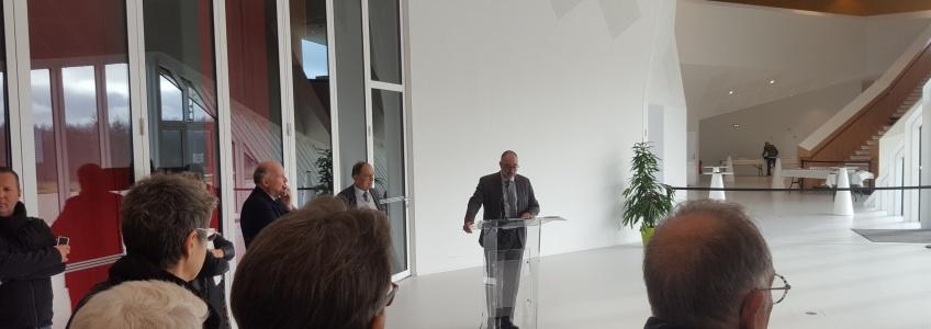 Acoba Assistance maîtrise d'ouvrage : Inauguration de l'EHPAD Jean Moulin du Centre Hospitalier de Jonzac