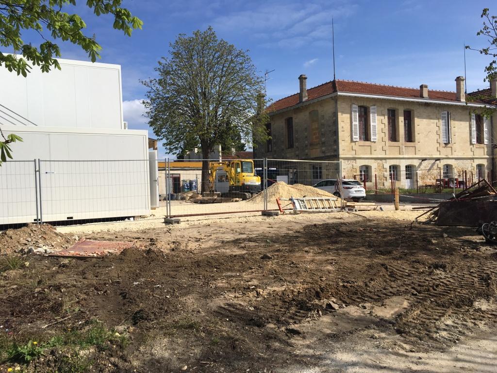 Acoba Assistance maîtrise d'ouvrage : les tout premiers coups de pelle de l'EHPAD La tour du Pin à Saint-André-de-Cubzac - 4