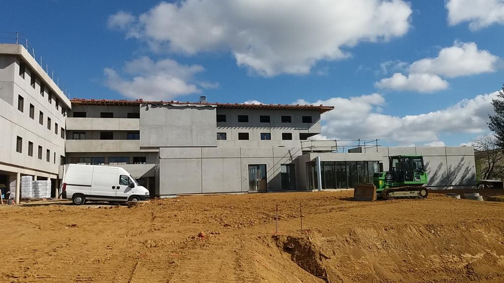 Assistance maîtrise d'ouvrage : Les derniers rtavaux s'effectuent sur le site de l'EHPAD de Geaune dans les Landes - 1