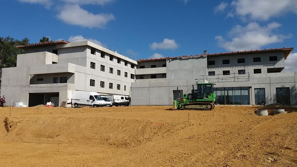 Assistance maîtrise d'ouvrage : Les derniers rtavaux s'effectuent sur le site de l'EHPAD de Geaune dans les Landes - 2