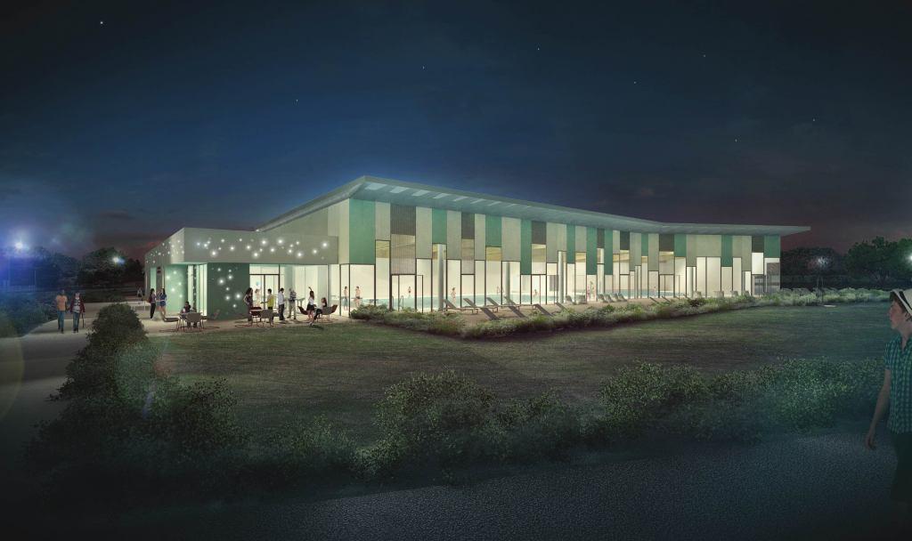 Acoba Assistance maîtrise d'ouvrage : Les travaux de reconstruction de la piscine à Ambarès-et-Lagrave ont débuté - 13