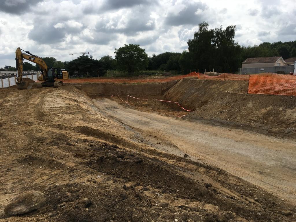 Acoba Assistance maîtrise d'ouvrage : Les travaux de reconstruction de la piscine à Ambarès-et-Lagrave ont débuté - 5