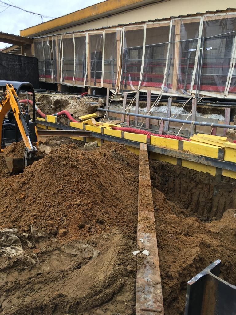 Acoba Assistance maîtrise d'ouvrage : le chantier de l'EHPAD La tour du Pin à Saint-André-de-Cubzac progresse rapidement - 2