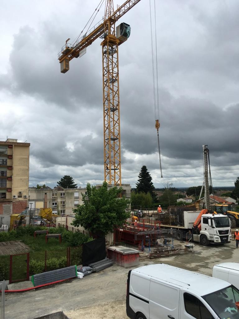 Acoba Assistance maîtrise d'ouvrage : le chantier de l'EHPAD La tour du Pin à Saint-André-de-Cubzac progresse rapidement - 3