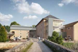 Acoba Assistance maîtrise d'ouvrage : Réhabilitation du moulin d'Anguitard, aménagement pôle culturel à Chasseneuil du Poitou, appel d'Offres Travaux lancé