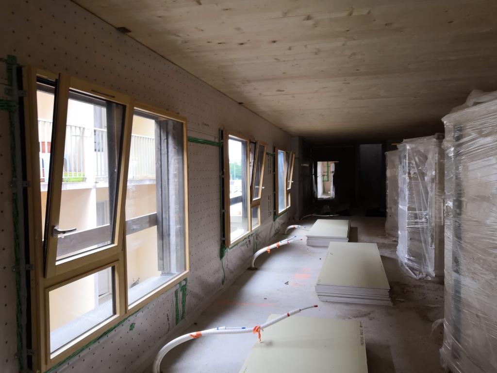 Acoba Assistance Maîtrise d'Ouvrage : Les travaux de l'EHPAD Au Bon Accueil se poursuivent à La Chapelle Saint Laurent - 1