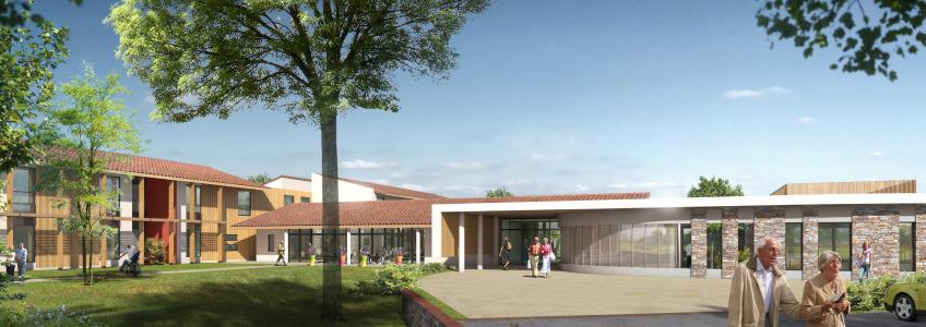Acoba Assistance maîtrise d'ouvrage : La consultation pour la construction d'un EHPAD à Castelnau-Rivière-Basse est publiée