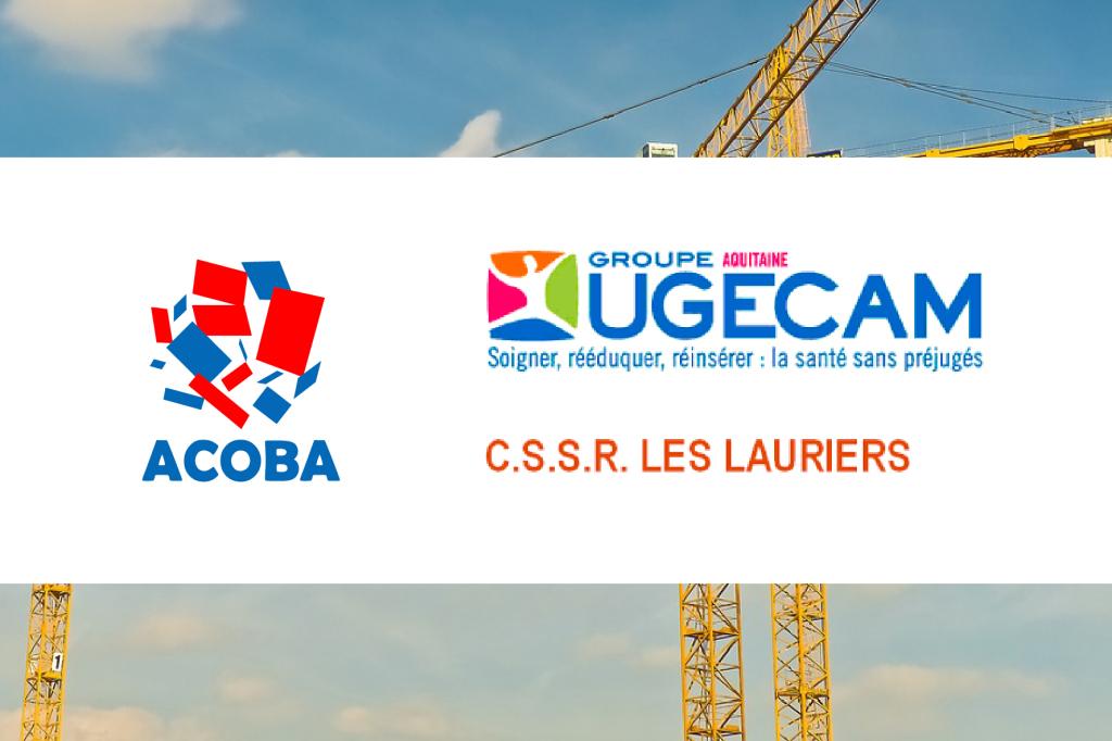 Acoba Assistance maîtrise d'ouvrage : Santé - Centre de Soins de Suite et de Réadaptation Les Lauriers à Lormont