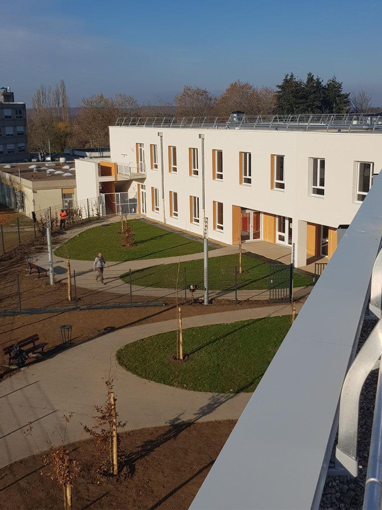 Acoba Assistance maîtrise d'ouvrage : Les travaux de l'EHPAD La Charmeraie de Nogent-le-Rotrou sont terminés