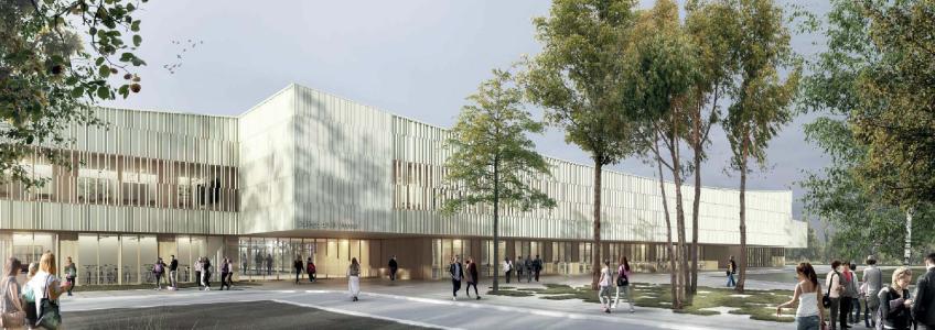 Acoba Assistance maîtrise d'ouvrage : Construction d'un collège à Vouneuil-sous-Biard (Poitiers)