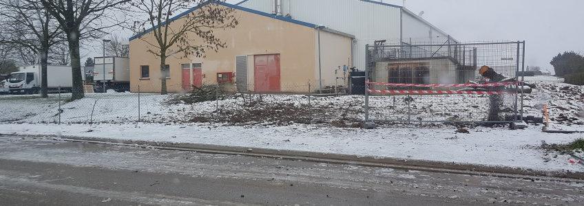 Acoba Assistance maîtrise d'ouvrage : Début du chantier au Centre Hospitalier d'Alençon