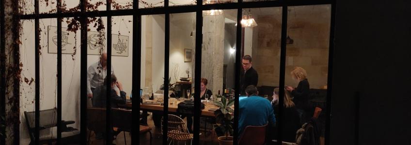 ACOBA: Le 7 février dernier s'est tenue une journée de travail collégiale chez nos amis de la Casa Blanca, 39 rue de la course à Bordeaux