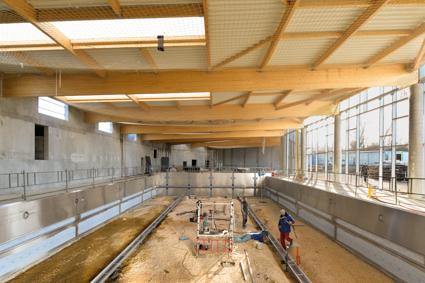 Acoba Assistance maîtrise d'ouvrage : Suite des travaux de la piscine d'Ambarès-et-Lagrave - 1