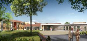 Acoba Assistance maîtrise d'ouvrage EPAS 65 – Démarrage des travaux du nouvel EHPAD de Castelnau-Rivière-Basse, 70 lits au total