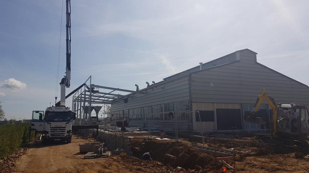Acoba Assistance maîtrise d'ouvrage : Suivi de chantier de l'extension de la blanchisserie de Damigny - 1