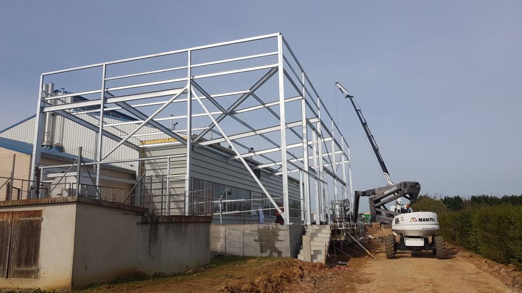 Acoba Assistance maîtrise d'ouvrage : Suivi de chantier de l'extension de la blanchisserie de Damigny - 2