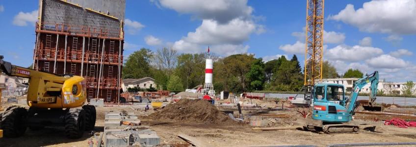 Acoba Assistance maîtrise d'ouvrage : Les élévations du nouveau Palais de justice de Mont-de-Marsan débutent - home