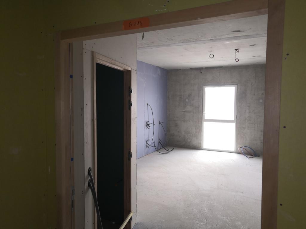 Assistance maîtrise d'ouvrage : Fin du clos couvert pour le projet de restructuration de l'EHPAD du Centre Hospitalier de Châteauneuf sur Charente - Intérieur