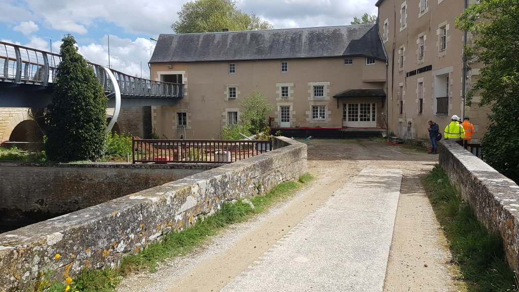 Acoba Assistance maîtrise d'ouvrage : Réhabilitation du Moulin d'Anguitard et aménagement d'un pôle culturel à Chasseneuil du Poitou - 1