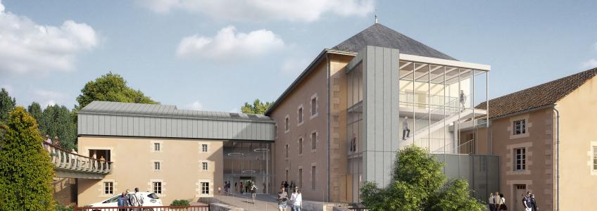 Acoba Assistance maîtrise d'ouvrage : Réhabilitation du Moulin d'Anguitard et aménagement d'un pôle culturel à Chasseneuil du Poitou