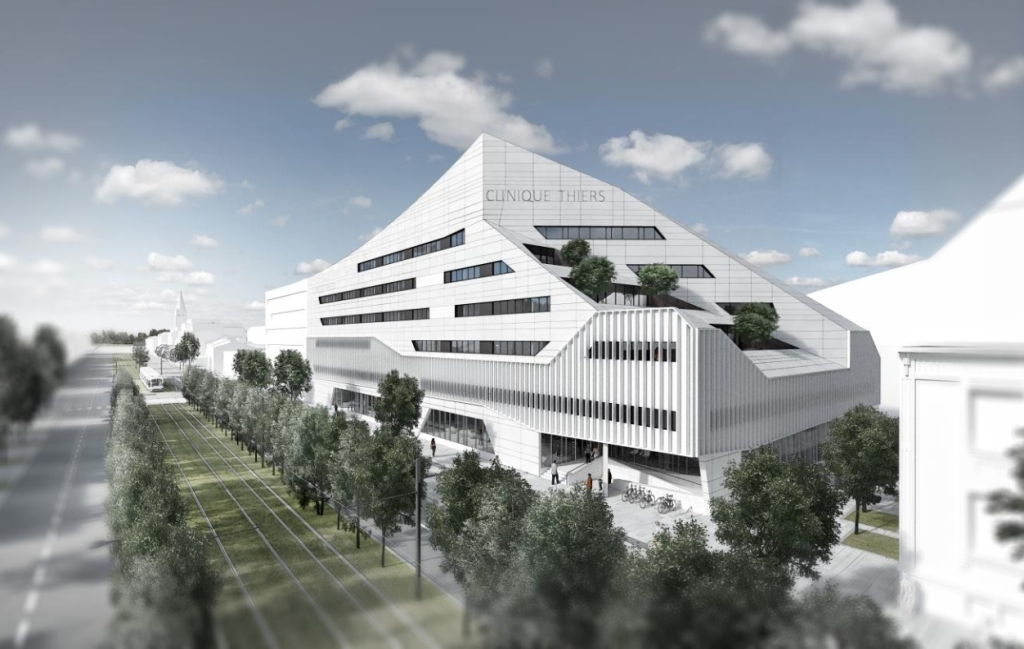 Acoba Assistance maîtrise d'ouvrage : Nouvelle Clinique Thiers sur la rive droite de Bordeaux - 1