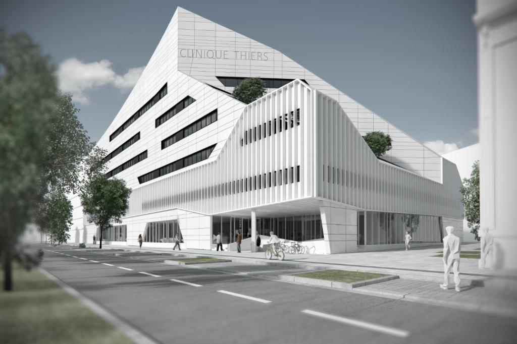 Acoba Assistance maîtrise d'ouvrage : Nouvelle Clinique Thiers sur la rive droite de Bordeaux