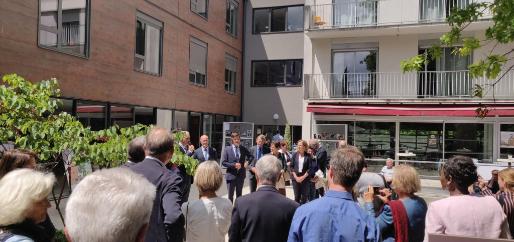 Acoba Assistance maîtrise d'ouvrage : Inauguration du Village Terre Nègre à Bordeaux - 1