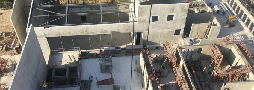Acoba Assistance maîtrise d'ouvrage : Les travaux de construction du nouveau Palais de justice de Mont-de-Marsan avancent vite !