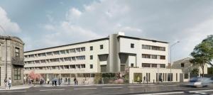 Acoba Assistance maîtrise d'ouvrage Bordeaux : Groupe scolaire Tivoli Rivière - Après Extérieur