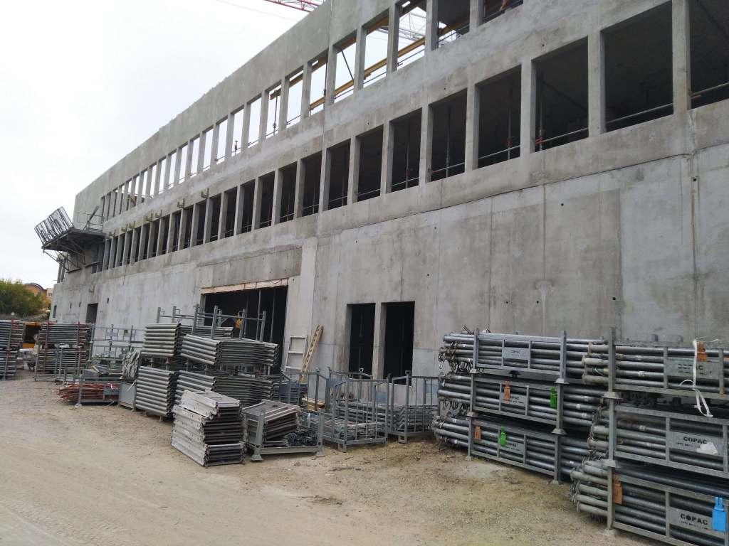 Acoba Assistance maîtrise d'ouvrage : Avancée des travaux du nouveau Palais de justice de Mont-de-Marsan - 1