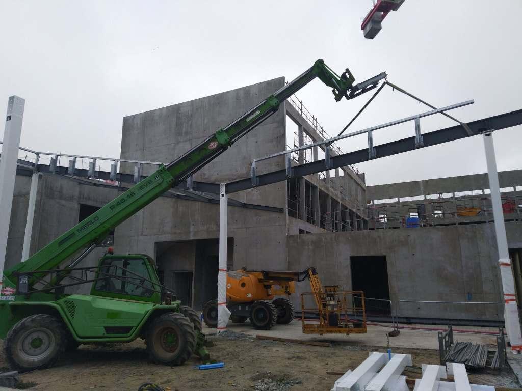 Acoba Assistance maîtrise d'ouvrage : Avancée des travaux du nouveau Palais de justice de Mont-de-Marsan - 2