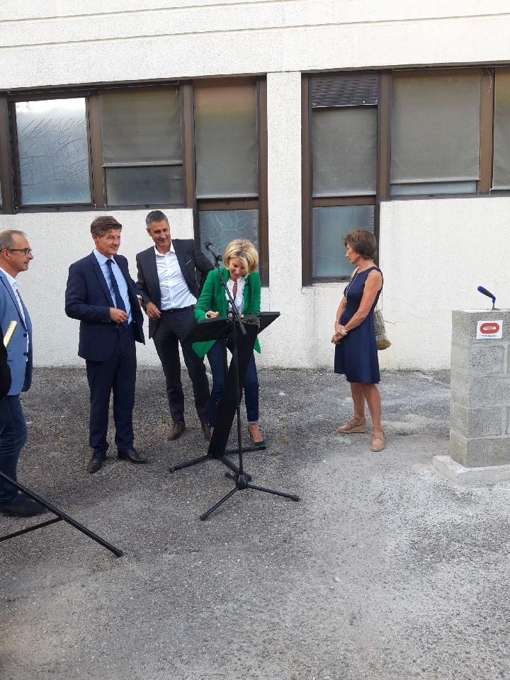 Acoba Assistance maîtrise d'ouvrage : Première pierre du futur Groupe Scolaire Tivoli Rivière Bordeaux - 1