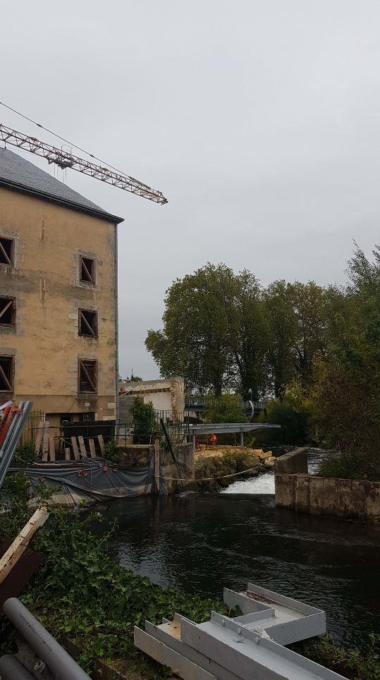 Acoba Assistance maîtrise d'ouvrage : Réhabilitation du Moulin d'Anguitard et aménagement d'un pôle culturel à Chasseneuil-du-Poitou, poursuite des travaux - 1