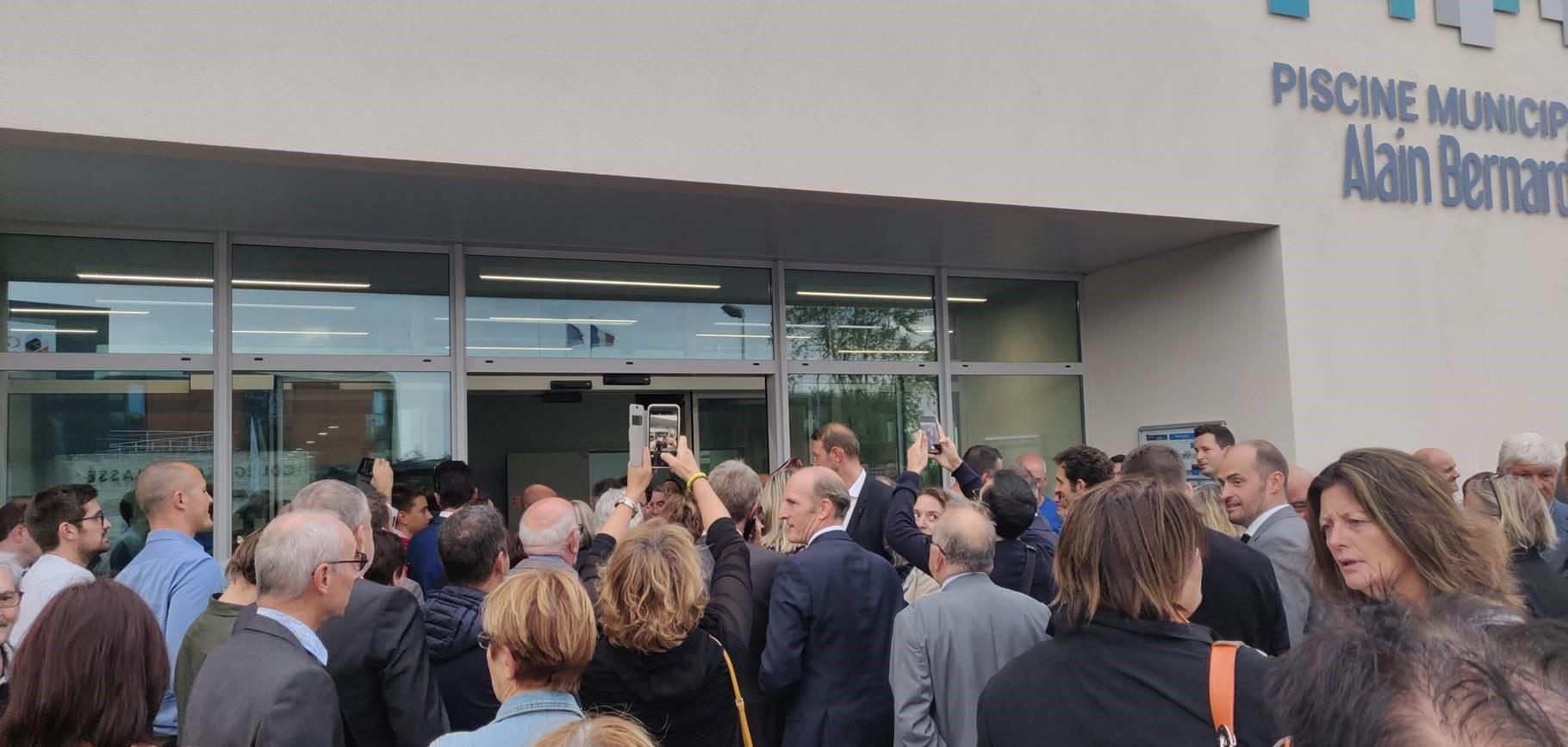 Acoba Assistance maîtrise d'ouvrage : Inauguration de la piscine Alain Bernard d'Ambarès-et-Lagrave - 1
