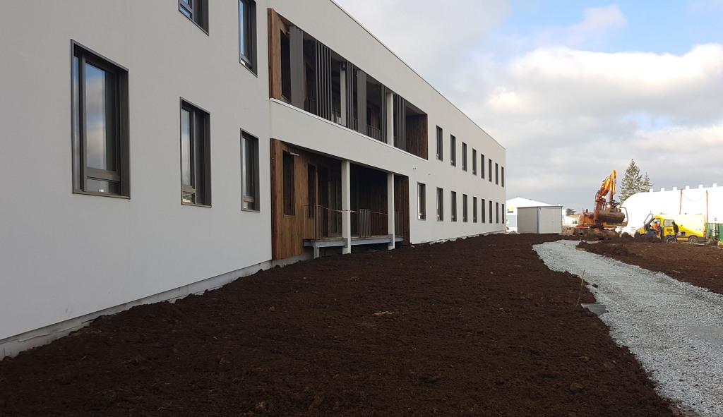 Acoba Assistance maîtrise d'ouvrage : Avancée des travaux de reconstruction de l'EHPAD Les Hauts de Plaisance de BENET - 4