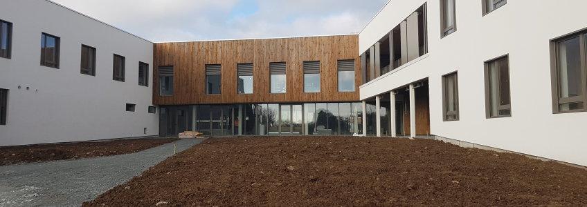 Acoba Assistance maîtrise d'ouvrage : Avancée des travaux de reconstruction de l'EHPAD Les Hauts de Plaisance de BENET