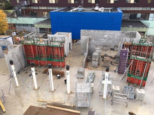 Acoba Assistance maîtrise d'ouvrage : UGECAM Aquitaine Tour de Gassies : construction d'une extension de 60 lits - 1
