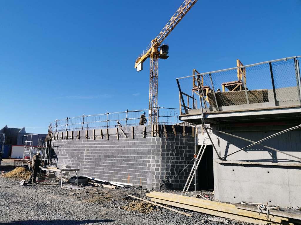 Acoba Assistance maîtrise d'ouvrage : Nouvelles photos des travaux du nouvel EHPAD de Castelnau-Rivière-Basse - 2