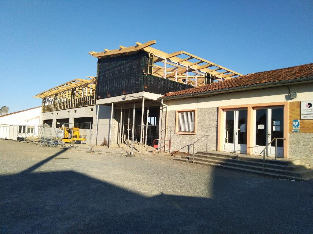 Acoba Assistance maîtrise d'ouvrage : Suite du chantier du projet de restructuration du collège de Cenon
