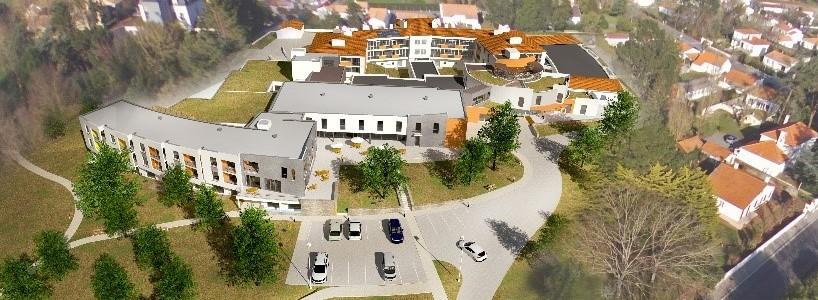 Acoba Assistance maîtrise d'ouvrage : Restructuration extension de l'EHPAD Résidence de L'Equaiziere (79 lits) et création d'une résidence autonomie