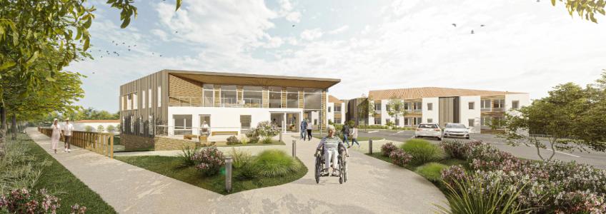 Acoba Assistance maîtrise d'ouvrage : Restructuration Extension de l'EHPAD de Saint-Christophe-du-Ligneron