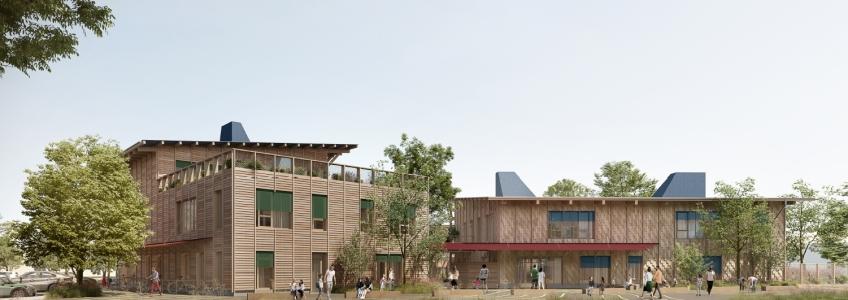 Acoba Assistance maîtrise d'ouvrage : signature du marché de conception réalisation pour le 5ème groupe scolaire de la ville de Bruges