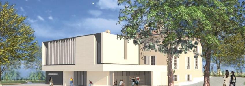 Acoba Assistance maîtrise d'ouvrage : Restructuration extension du château Fongravey à Blanquefort (Gironde)