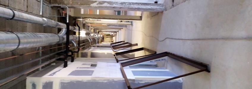 Acoba Assistance maîtrise d'ouvrage : Les travaux se poursuivent à Lure (70) - Intérieur