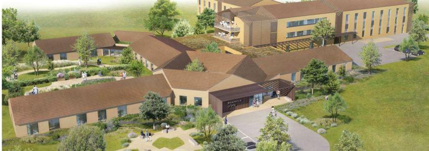 Acoba Assistance Maîtrise d'Ouvrage : Reconstruction de l'EHPAD la Résidence d'Urfé à Feillens (01)