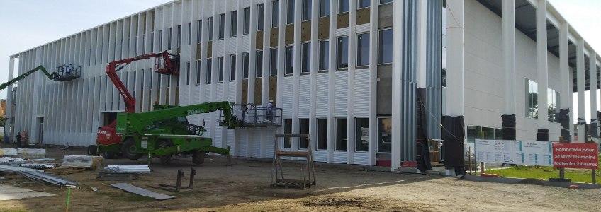 Acoba Assistance Maîtrise d'Ouvrage : Les travaux du Palais de Justice reprennent à Mont-de-Marsan