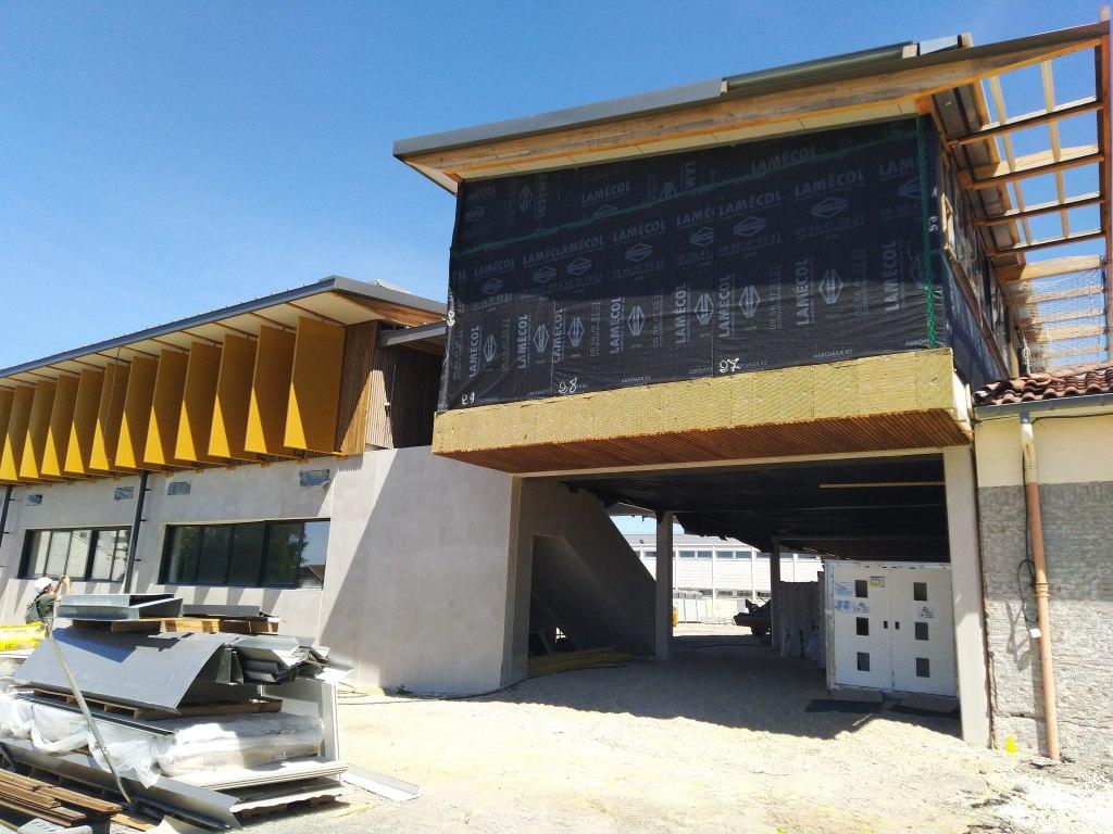 Acoba Assistance maîtrise d'ouvrage : Reprise du chantier du projet de restructuration du collège de Cenon - 1