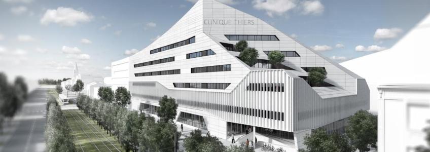 Acoba Assistance Maîtrise d'Ouvrage - ZAC Bastide Niel Bordeaux (33) : Clinique Thiers
