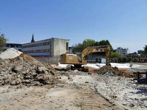 Acoba Assistance Maîtrise d'Ouvrage - Chantier de restructuration du collège Jules Ferry de Mérignac